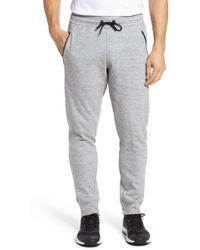 Zella Magnetite Fleece Jogger Pants - Gray