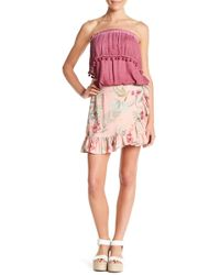 On The Road - Baker Tropical Ruffled Skirt - Lyst