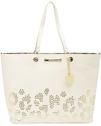Betsey Johnson - Studded Tote - Lyst
