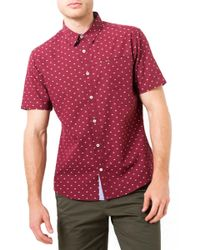 7 Diamonds - Star Quality Dobby Woven Shirt - Lyst