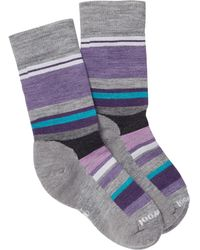 Smartwool | Saturnphere Striped Colorblock Crew Socks | Lyst