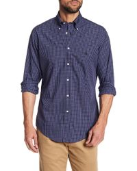 Brooks Brothers - Broadcloth Regent Plaid Regular Fit Shirt - Lyst