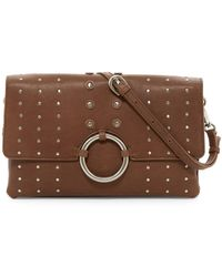 Sorial - Mia Studded Leather Clutch - Lyst