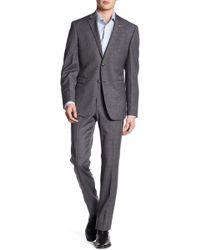 Original Penguin - Mens Two Piece Sharkskin Fabric Trim Fit Suit - Lyst