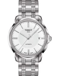 Tissot - Men's T-classic Swiss Automatic Bracelet Watch, 39mm - Lyst