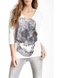Go Couture - V-neck Dolman Sweater - Lyst