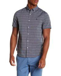Original Penguin - Striped Button Down Shirt - Lyst