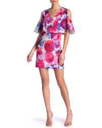Trina Turk - Oakhurst Cold Shoulder Floral Print Dress - Lyst