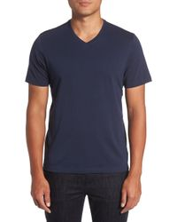 Zachary Prell - Mercer V-neck Slim Fit T-shirt - Lyst