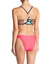 Body Glove | Smoothies Straight Up High Leg Bikini Bottoms | Lyst