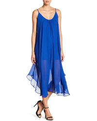 C. Luce - Sleeveless Midi Dress - Lyst