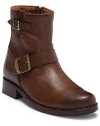 """Frye - Vicky 6"""" Buckle Boot - Lyst"""