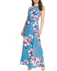 Charles Henry - Floral Maxi Dress (regular & Petite) - Lyst
