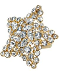 Kate Spade - Bright Star Embellished Ring - Lyst