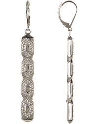 Vince Camuto - Openwork Linear Drop Earrings - Lyst