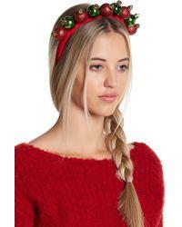 Berry - Santa Hat & Ornament Headband - Pack Of 2 - Lyst