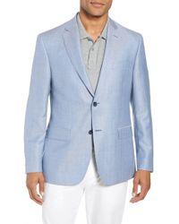 John W. Nordstrom - (r) Traditional Fit Herringbone Wool & Linen Sport Coat - Lyst