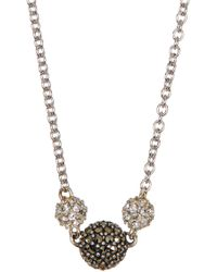 Judith Jack - Sterling Silver Mini Motives Reversible Station Necklace - Lyst