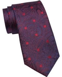 Ted Baker - Damask Paisley Silk Tie - Lyst