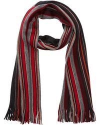 Tommy Bahama - Stripe Fringe Trim Wool Wrap Scarf - Lyst