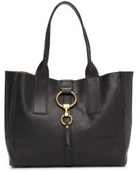 Frye - Ilana Harness Leather Shopper - Lyst