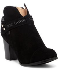 In Touch Footwear - Andrea Whipstiched Bootie - Lyst