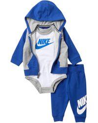 Nike - Futura Terry 3-piece Gift Set (baby Boys) - Lyst