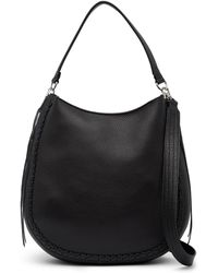 Rebecca Minkoff - Unlined Leather Convertible Whipstitch Hobo - Lyst