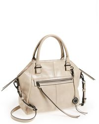 Elliott Lucca - Faro Distressed Leather Satchel - Lyst