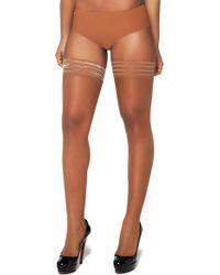 Nubian Skin - Sheer Matte Stay-ups - Lyst
