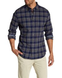 AG Jeans - Standard Fit Casual Flannel Button Down Shirt - Lyst