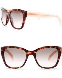 Prada - 54mm Square Conceptual Sunglasses - Lyst