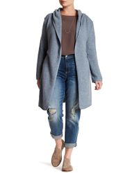 NAKEDCASHMERE - Tess Hooded Cashmere Cardigan (plus Size) - Lyst