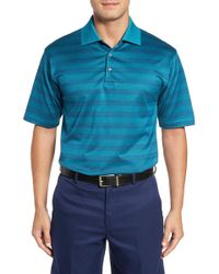 Bobby Jones - Greenwich Stripe Jacquard Polo - Lyst