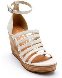 Matisse Kiera (natural) Wedge Shoes