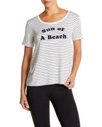 Betsey Johnson - Performance Sun Of A Beach T-shirt - Lyst