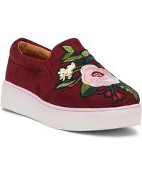 Catherine Malandrino - Flicker Floral Platform Sneaker - Lyst