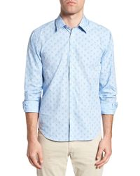 Jeremy Argyle Nyc - Slim Fit Lobster Print Sport Shirt - Lyst