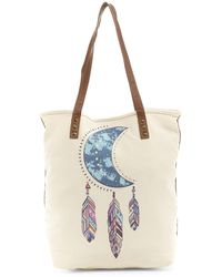 Twig & Arrow - Placed Print Tote - Lyst