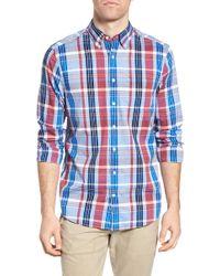 Gant | Madras Plaid Fitted Sport Shirt | Lyst