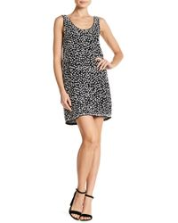 French Connection - Dorothy Floral Accent Dress - Lyst