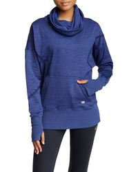 Asics   Cowl Neck Long Sleeve Pullover   Lyst