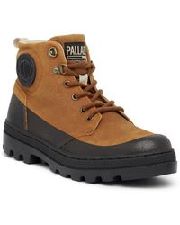 Palladium - Pallabosse Fleece Lined Hiking Boot - Lyst