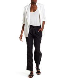 Chaus - Wide Leg Linen Trouser - Lyst