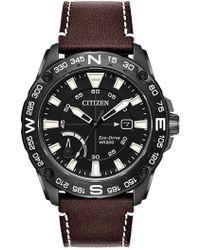 Citizen - Men's Eco-drive Prt Black Ip Strap Watch, 44mm - Lyst