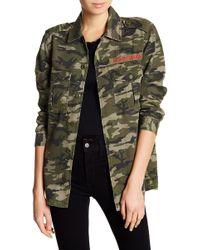 Pistola - Moneymaker Camouflage Jacket - Lyst