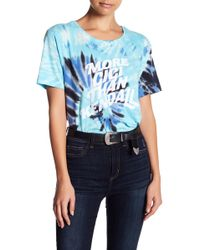 ELEVEN PARIS | Girls Can Do Anything Tie Dye Tee | Lyst