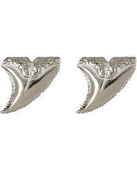 Anna Beck - Sterling Silver Horn Stud Earrings - Lyst