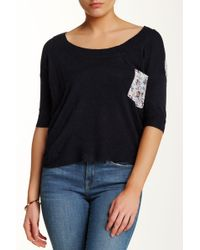 Lavand - Sheer Floral Sweater - Lyst