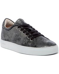 Blackstone - Low Leather Lace-up Trainer - Lyst
